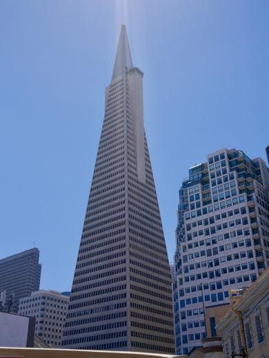 Yet another view of Transamerica Pyramid