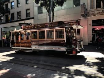 Obligatory cable car shot!