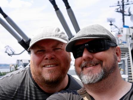 Biiiig selfie with the big guns