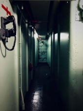 You'd wanna be intrepid to go down this corridor